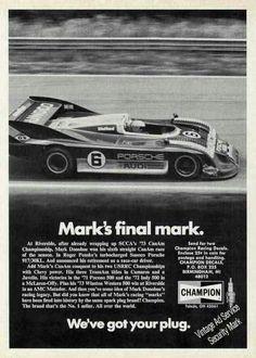 Champion Spark Plugs ad
