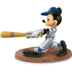 Mickey & Friends Chicago Cubs All-Stars Figurine Collection Handcrafted Disney characters salute the Chicago Cubs™. Team logo on hats and pinstripe uniforms. Editions limited to 95 casting days. Measure approximately H Mickey Mouse Figurines, Disney Figurines, Collectible Figurines, Mickey Mouse And Friends, Disney Mickey Mouse, Disney Gift, Chicago White Sox, Boston Red Sox, Boston Sports