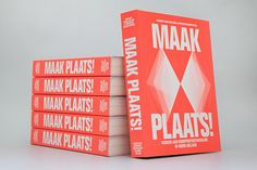 """ultrazapping:  """"'Maak Plaats!' ('Make Space!') presents a new vision of space in North Holland given."""" Book design and infographics by Florian Mewes. https://www.behance.net/mewes"""