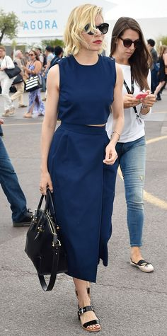 Look of the Day - May 23, 2015 - Day 7 - Celebrity Sightings - The 68th Annual Cannes Film Festival from #InStyle