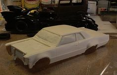 Rare Gray Ghost resin model kit.