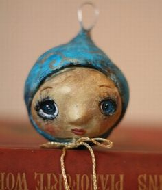 paperclay? ornament so cute and easy to do in your own style!