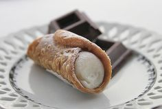 Cannoli, YUM!   Made these last night from scratch in a cooking class at Sur Le Table!