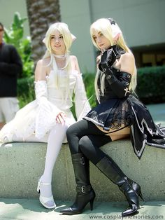 Chobits Cosplay - I'd love to be Freya while someone else is Chii