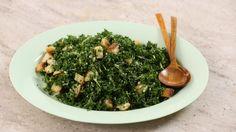 Kale Caeser Salad Videos | Tv How to's and ideas | Martha Stewart