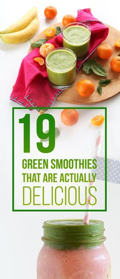 19 Green Smoothies That Actually Taste Great