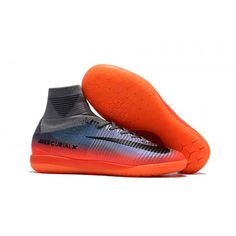 0e21b02e99 Prodaja Kopacke Nike Mercurial Superfly V CR7 IC Grey Orange Purple.  Chuteira FutsalChuteirasCinza LaranjaCoisas ...