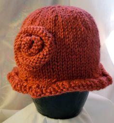 Beautiful Little Girl's Knit Hat