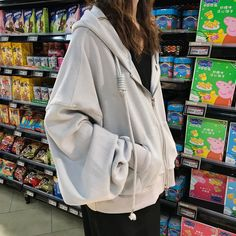 25 Korean Outfits To Look Cool And Fashionable - Fashion New Korean Outfits To Look Cool And Fashionable oversized zipper hooded sweatshirt - oversized zipper hooded Tumblr Outfits, Mode Outfits, Korean Outfits, Trendy Outfits, Girl Outfits, Fashion Outfits, Modest Fashion, Fashion Ideas, Aesthetic Fashion
