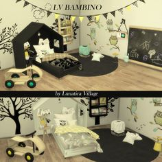 Sims 4 CC's - The Best: Kidsroom by LunaticaVillage