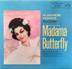 Madame Butterfly, Opera Highlights, 1956 RCA Victor Vinyl LP - Free Shipping! by BuffaloPopUp on Etsy