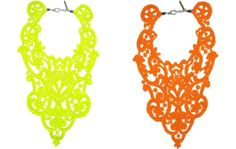 neon necklace