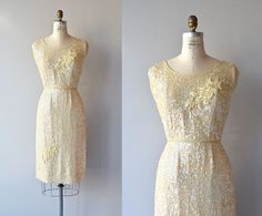 Pretty Lights dress | vintage 1960s dress • 60s beaded dress