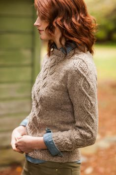 Rook pullover from Brooklyn Tweed