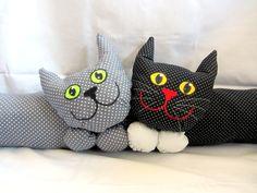 """Weiteres - Zugluftstopper """" Zwei Katzen"""" - ein Designerstück von LilyTiger bei DaWanda"""