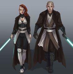 Master and Apprentice by AlishmcMalish.deviantart.com on @DeviantArt