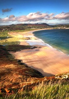 Donegal, Ireland, barely a half hours drive from home, we spent every sunny hour here we could, winter and summer. I still say you'll find some of the best beaches in the world in Donegal. Dream Vacations, Vacation Spots, Vacation Travel, Places To Travel, Places To See, Travel Things, Travel Stuff, Beautiful World, Beautiful Places