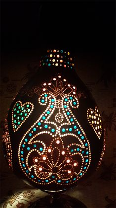 Su Kabağı Lambası, Kabak Lamba, Gourd Lamp More
