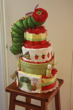Love this diaper cake