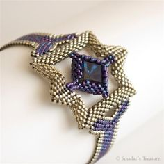 For the Women of the Future Beadwoven Bracelet by SmadarsTreasure
