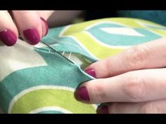 A step-by-step demonstration on how to hand sew an invisible stitch (AKA hidden stitch, latter stitch, blind stitch or slip stitch). This is a perfect sewing...