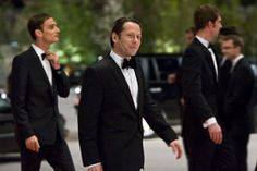 Still of Mathieu Amalric and Anatole Taubman in Quantum of Solace (2008)