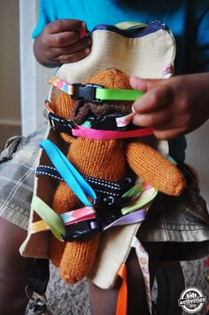DIY Clipping Toy: Road Trip Sanity with a Toddler - Kids Activities Blog
