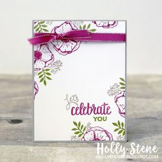 Stampin' Up! Amazing You - Sale-A-Bration 2018