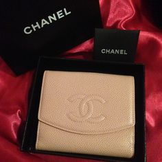 CHANEL Pink Caviar Porte Bil Mon Leather Wallet PAYPAL: $650 (Posh takes too much to lower cost on here) -- 100% Authentic -- Includes Original box -- Also selling matching Pink Purse - actual pink color is shown better on the purse! CHANEL Bags Wallets