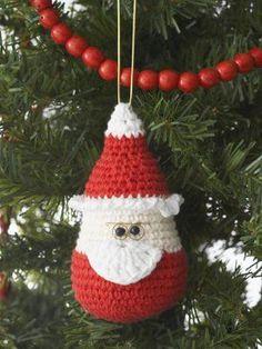 Santa Ornament | FaveCrafts.com