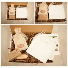 amazing packaging by tip toe photography!  check out the wooden usb