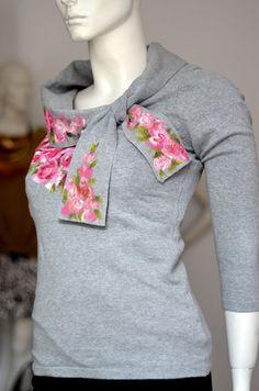 Sweterek. Letycja odzież ręcznie malowana
