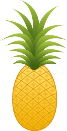 This high quality free PNG image without any background is about pineapple, ananas comosus, coalesced berries, pineapples and clipart. Cartoon Pineapple, Pineapple Clipart, Pineapple Fruit, Watermelon Birthday, Flamingo Birthday, Pineapple Pictures, Pineapple Illustration, Fruit Icons, Tropical