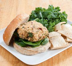 White Bean, Kale & Quinoa Burger | Baked In