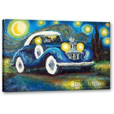 Handmade Art - Starry Night Parody - N130713B66406