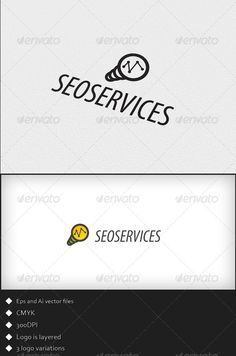 Seo Services  - Logo Design Template Vector #logotype Download it here: http://graphicriver.net/item/seo-services-logo-template/1765910?s_rank=1647?ref=nexion