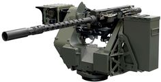 .50 cal FN M3P machine gun, provides high rate of fire (1,100 RPM) and is a world exclusivity by FN Herstal.