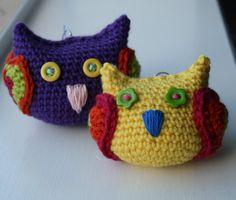 Crochet pattern christmas crochet owl decoration by LuzPatterns #crochetpattern #christmasdecor