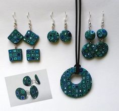 New collection #fimo #polymer #clay #earrings