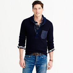 Wallace   Barnes Italian wool shawl sweater 11fc6608d
