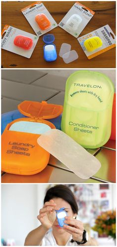 Travelon Toiletry Sheets are TSA compliant paper-thin toiletry sheets that dissolve almost instantly in water, giving you a handful of cleansing suds.
