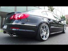 VW Passat CC 3.6 Individual R36 AGA Abgasanlage V6 4Motion Supersport Exhaust German Cult Berlin - YouTube