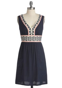 Another ModCloth dress - simple but love the colors and the pattern
