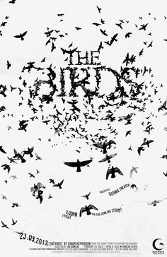 The Birds - Typograp