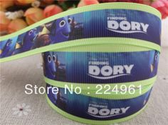 Aliexpress.com : Buy 2013 new arrival  7/8'' (22mm)  Finding Nemo grosgrain ribbon cartoon ribbon printed Finding DORY ribbon 10 yards from Reliable Despicable Me suppliers on Alice Fashion Ribbon $4.47