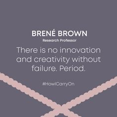 Mind shift courtesy of [IG]: Avoiding failure = Avoiding Innovation & Creativity. Appreciate the learning in moments of failure and keep rolling 💪 🌟 Brene Brown, Wednesday Wisdom, Appreciation, Innovation, Creativity, Mindfulness, In This Moment, Learning, Decor