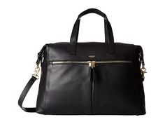 KNOMO London Audley Leather Slim Laptop Tote