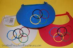 Olympics visor craft
