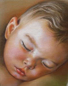Custom Children Portraits Commission Pastel by KathyKellerBauer