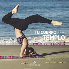 ¡Tu cuerpo es tu templo, manténlo puro y simple!